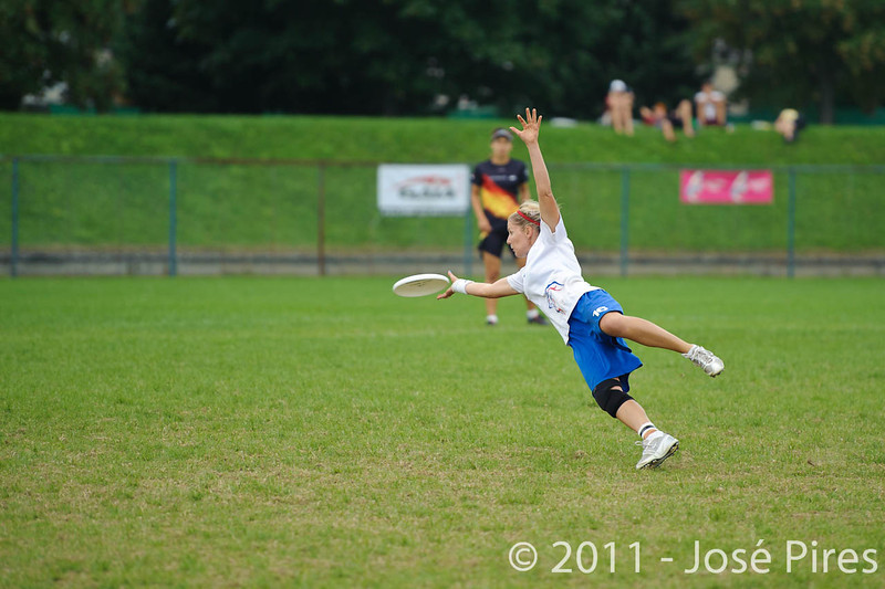 EUC2011, Maribor Slovenia.<br /> Germany vs Great Britain. Final. Women Division<br /> PhotoId :2011-08-06-1121