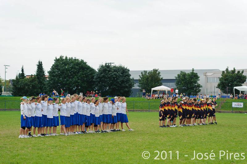 EUC2011, Maribor Slovenia.<br /> Germany vs Great Britain. Final. Women Division<br /> PhotoId :2011-08-06-0525