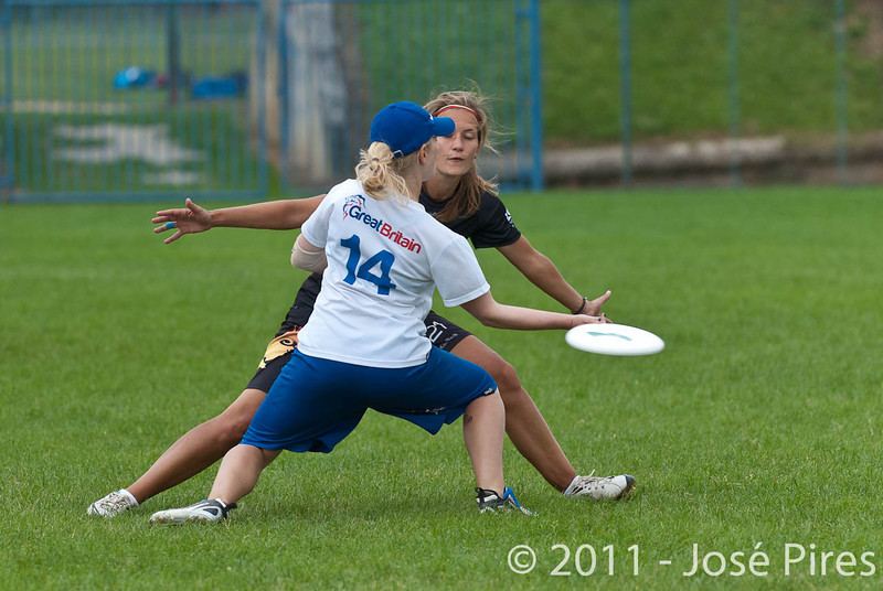 EUC2011, Maribor Slovenia.<br /> Germany vs Great Britain. Final. Women Division<br /> PhotoId :2011-08-06-0827