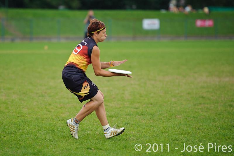 EUC2011, Maribor Slovenia.<br /> Germany vs Great Britain. Final. Women Division<br /> PhotoId :2011-08-06-1149