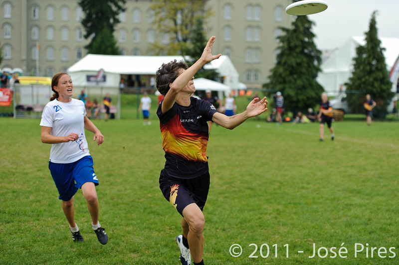 EUC2011, Maribor Slovenia.<br /> Germany vs Great Britain. Final. Women Division<br /> PhotoId :2011-08-06-0740