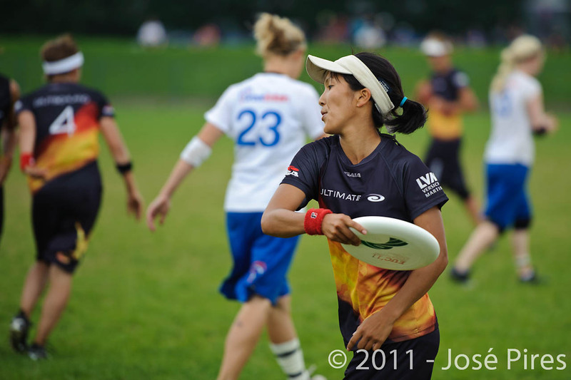 EUC2011, Maribor Slovenia.<br /> Germany vs Great Britain. Final. Women Division<br /> PhotoId :2011-08-06-1159