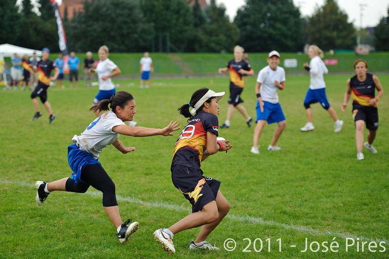 EUC2011, Maribor Slovenia.<br /> Germany vs Great Britain. Final. Women Division<br /> PhotoId :2011-08-06-1154