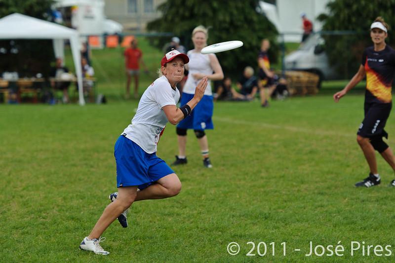 EUC2011, Maribor Slovenia.<br /> Germany vs Great Britain. Final. Women Division<br /> PhotoId :2011-08-06-0669