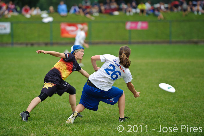 EUC2011, Maribor Slovenia.<br /> Germany vs Great Britain. Final. Women Division<br /> PhotoId :2011-08-06-1211