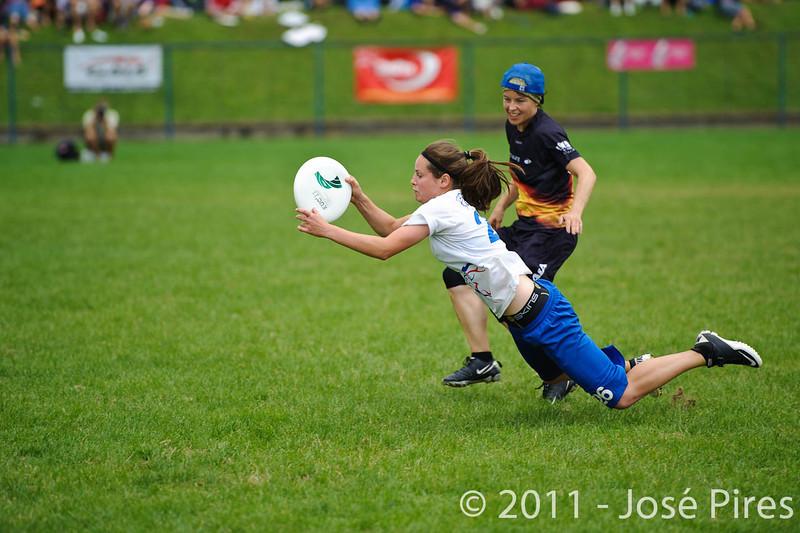 EUC2011, Maribor Slovenia.<br /> Germany vs Great Britain. Final. Women Division<br /> PhotoId :2011-08-06-1205