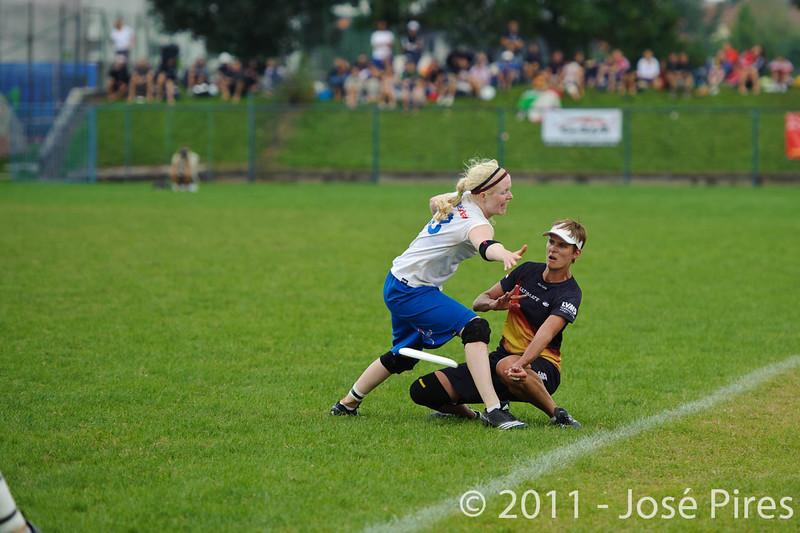 EUC2011, Maribor Slovenia.<br /> Germany vs Great Britain. Final. Women Division<br /> PhotoId :2011-08-06-1147