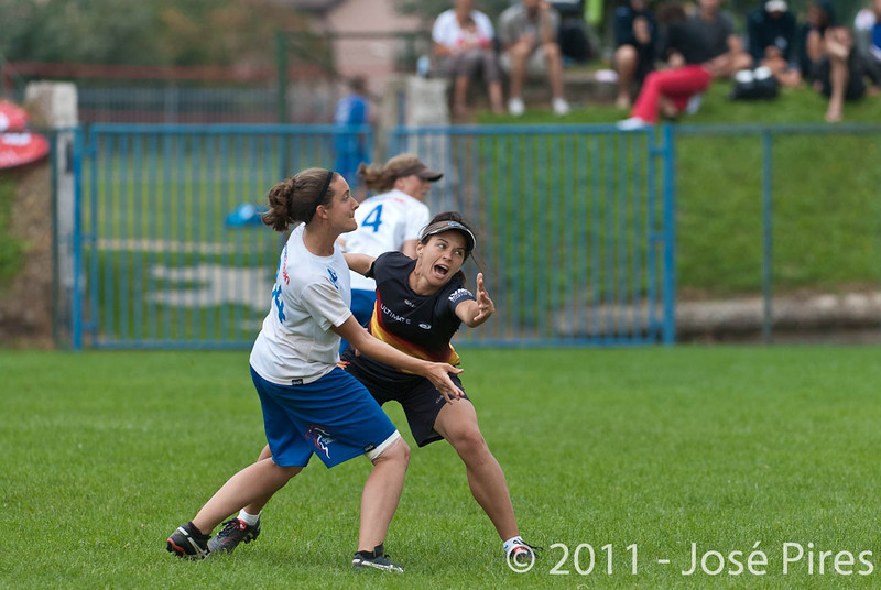 EUC2011, Maribor Slovenia.<br /> Germany vs Great Britain. Final. Women Division<br /> PhotoId :2011-08-06-0794