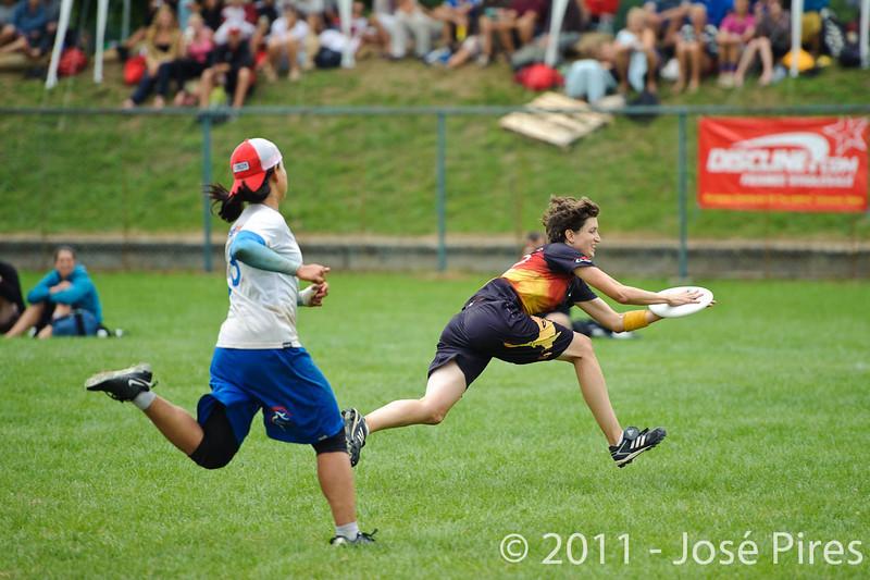 EUC2011, Maribor Slovenia.<br /> Germany vs Great Britain. Final. Women Division<br /> PhotoId :2011-08-06-1233