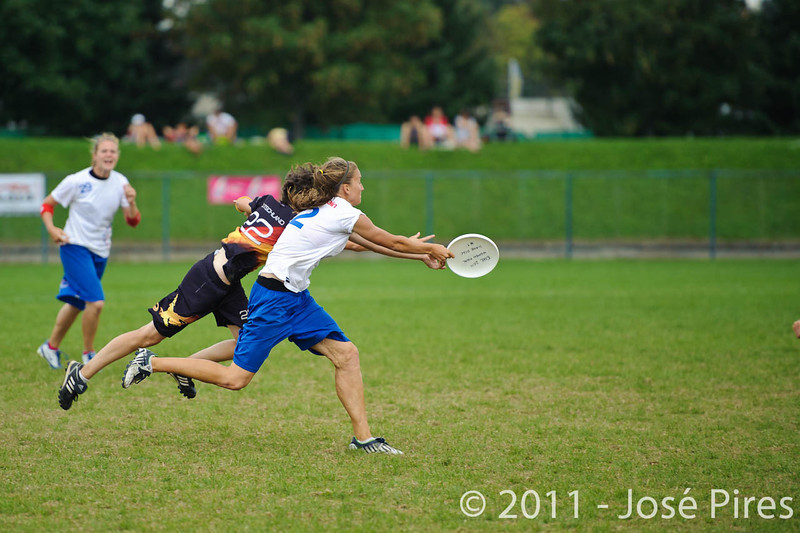 EUC2011, Maribor Slovenia.<br /> Germany vs Great Britain. Final. Women Division<br /> PhotoId :2011-08-06-1165