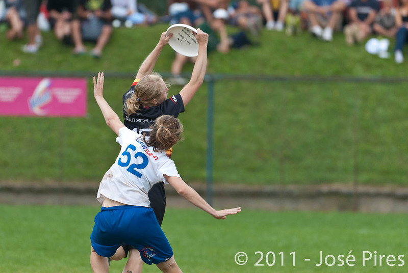 EUC2011, Maribor Slovenia.<br /> Germany vs Great Britain. Final. Women Division<br /> PhotoId :2011-08-06-0838