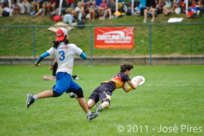 EUC2011, Maribor Slovenia.<br /> Germany vs Great Britain. Final. Women Division<br /> PhotoId :2011-08-06-1235