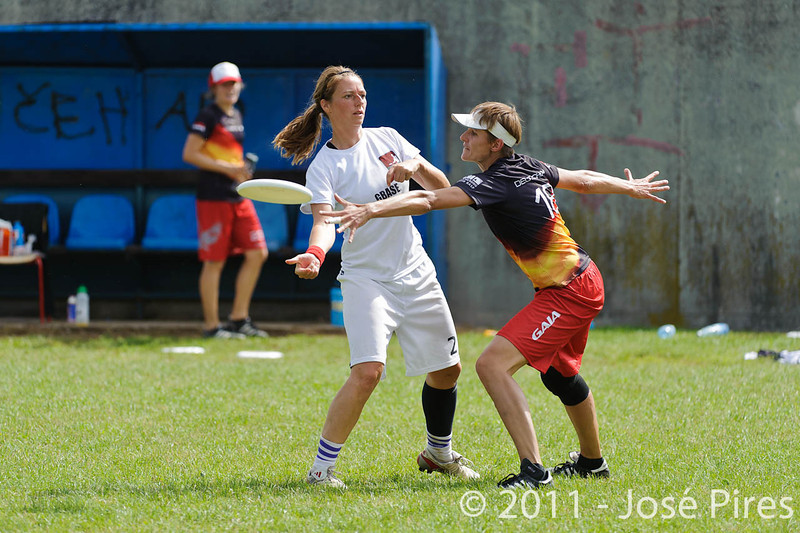 EUC2011, Maribor Slovenia.<br /> Denmark vs Germany. Women Division.<br /> PhotoID : 2011-08-02-0191