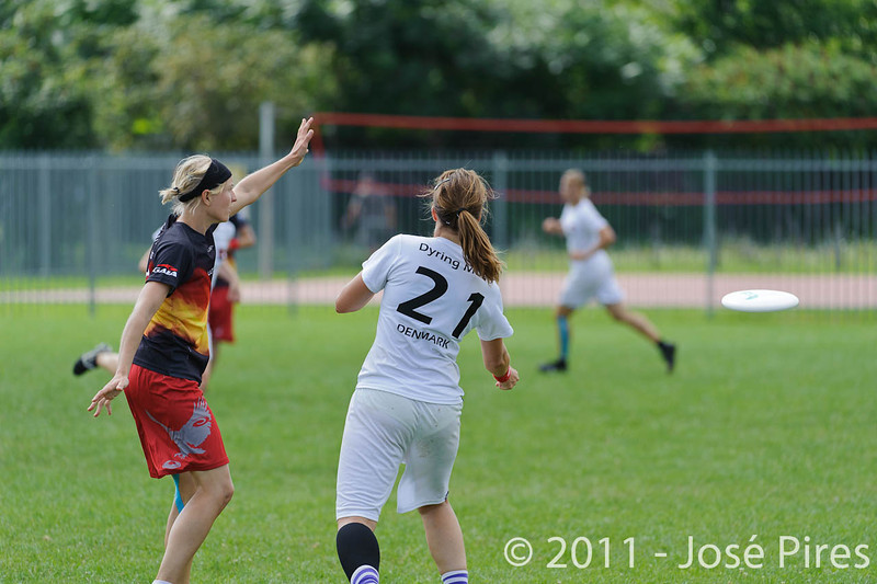 EUC2011, Maribor Slovenia.<br /> Denmark vs Germany. Women Division.<br /> PhotoID : 2011-08-02-0141