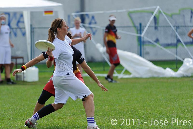 EUC2011, Maribor Slovenia.<br /> Denmark vs Germany. Women Division.<br /> PhotoID : 2011-08-02-0078