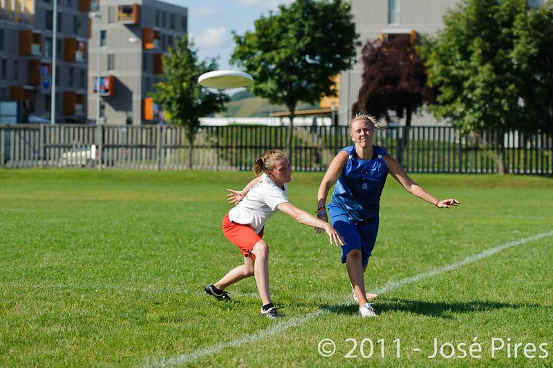 EUC2011, Maribor Slovenia.<br /> Denmark vs Great Britain. Women Division.<br /> PhotoID : 2011-08-02-0951