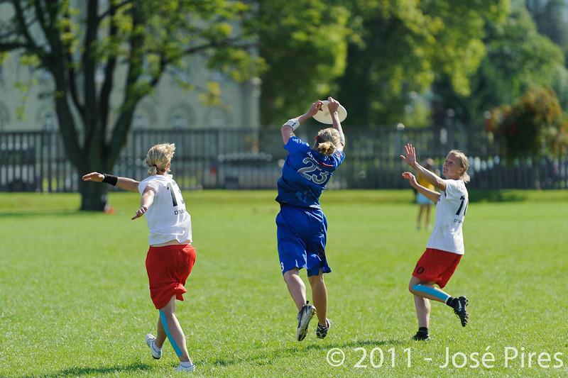 EUC2011, Maribor Slovenia.<br /> Denmark vs Great Britain. Women Division.<br /> PhotoID : 2011-08-02-0954