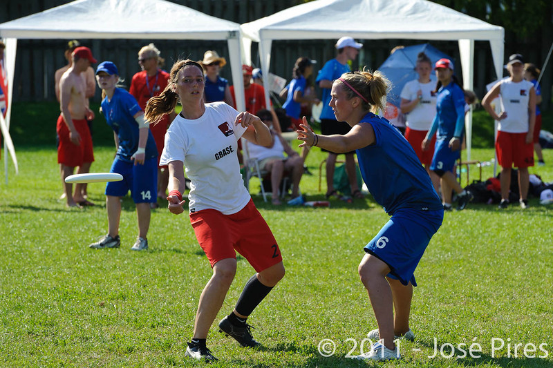 EUC2011, Maribor Slovenia.<br /> Denmark vs Great Britain. Women Division.<br /> PhotoID : 2011-08-02-0894