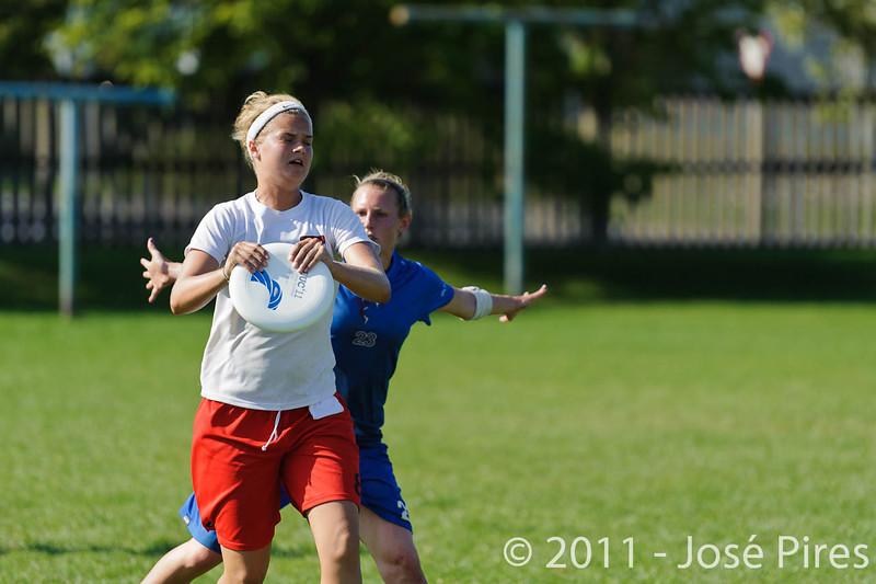 EUC2011, Maribor Slovenia.<br /> Denmark vs Great Britain. Women Division.<br /> PhotoID : 2011-08-02-0927