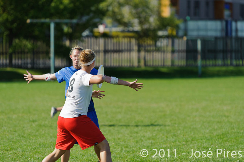 EUC2011, Maribor Slovenia.<br /> Denmark vs Great Britain. Women Division.<br /> PhotoID : 2011-08-02-0930