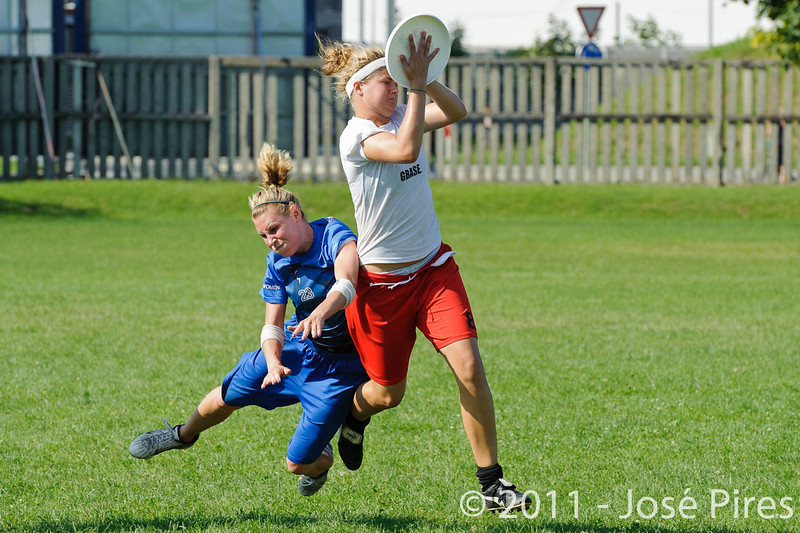 EUC2011, Maribor Slovenia.<br /> Denmark vs Great Britain. Women Division.<br /> PhotoID : 2011-08-02-0902