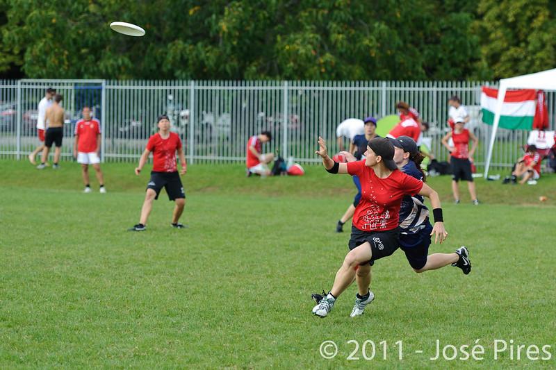 EUC2011, Maribor Slovenia.<br /> Switzerland vs Finland. Women Division.<br /> PhotoID : 2011-08-02-0025