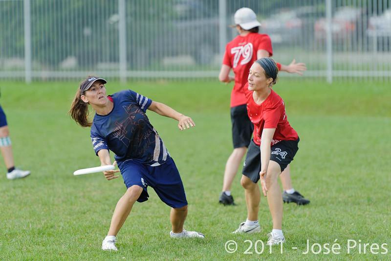 EUC2011, Maribor Slovenia.<br /> Switzerland vs Finland. Women Division.<br /> PhotoID : 2011-08-02-0271