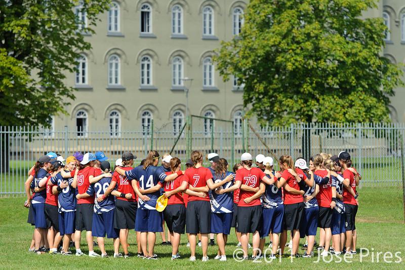EUC2011, Maribor Slovenia.<br /> Switzerland vs Finland. Women Division.<br /> PhotoID : 2011-08-02-0301