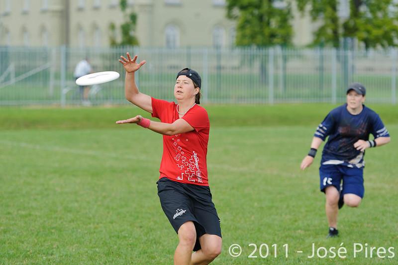 EUC2011, Maribor Slovenia.<br /> Switzerland vs Finland. Women Division.<br /> PhotoID : 2011-08-02-0250