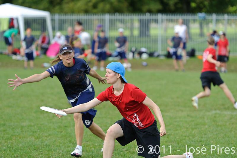 EUC2011, Maribor Slovenia.<br /> Switzerland vs Finland. Women Division.<br /> PhotoID : 2011-08-02-0001