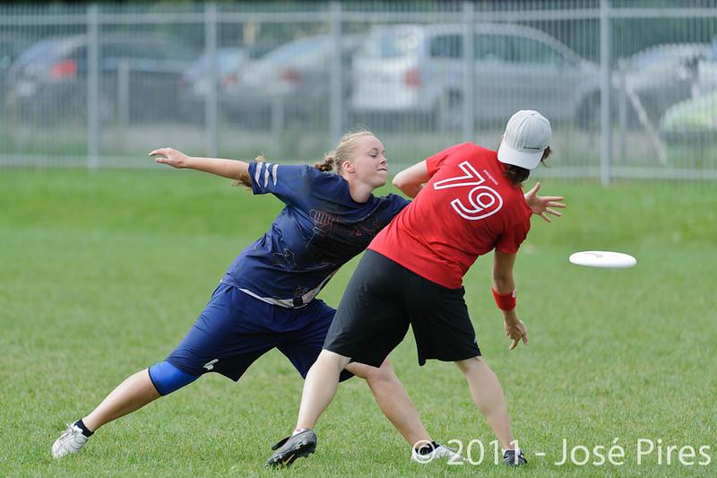 EUC2011, Maribor Slovenia.<br /> Switzerland vs Finland. Women Division.<br /> PhotoID : 2011-08-02-0103