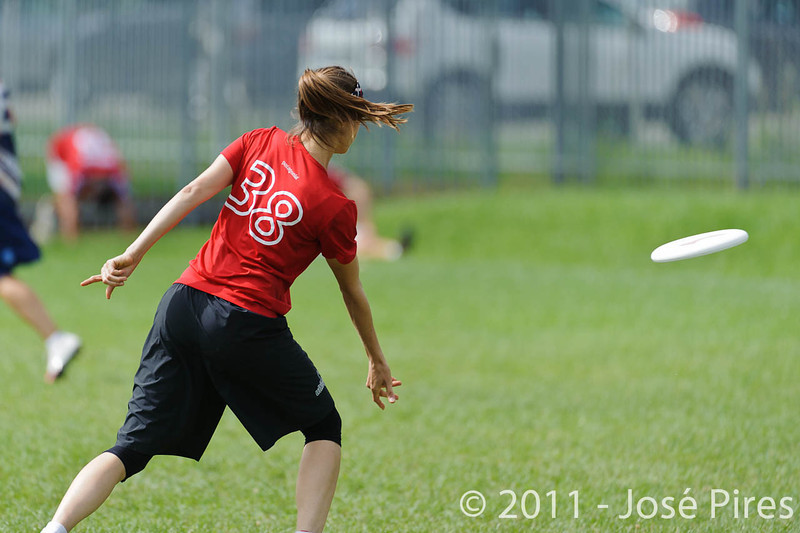 EUC2011, Maribor Slovenia.<br /> Switzerland vs Finland. Women Division.<br /> PhotoID : 2011-08-02-0188