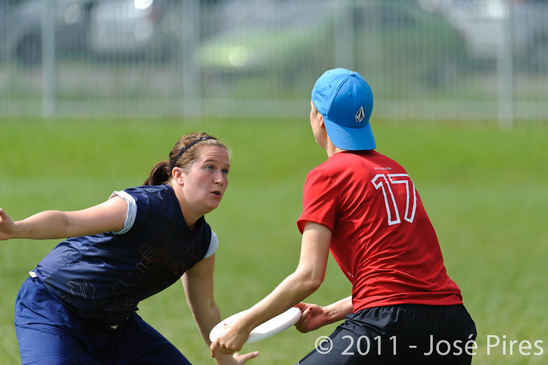 EUC2011, Maribor Slovenia.<br /> Switzerland vs Finland. Women Division.<br /> PhotoID : 2011-08-02-0186