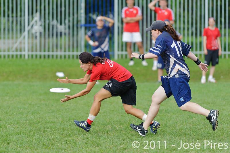 EUC2011, Maribor Slovenia.<br /> Switzerland vs Finland. Women Division.<br /> PhotoID : 2011-08-02-0036