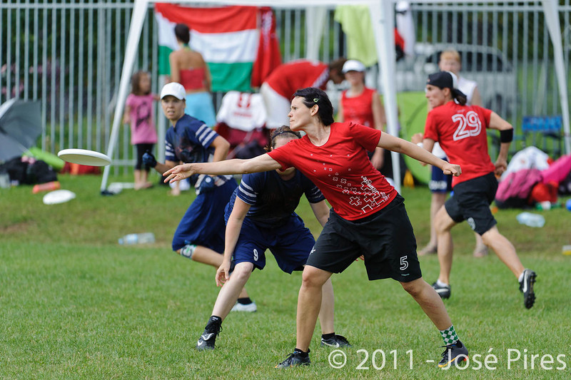 EUC2011, Maribor Slovenia.<br /> Switzerland vs Finland. Women Division.<br /> PhotoID : 2011-08-02-0098