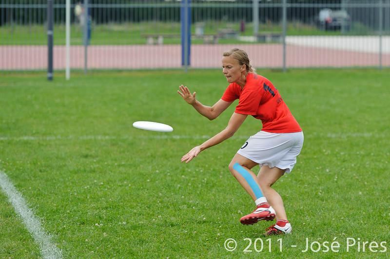 EUC2011, Maribor Slovenia.<br /> Finland vs Denmark. Women Division<br /> PhotoId :2011-08-03-0315