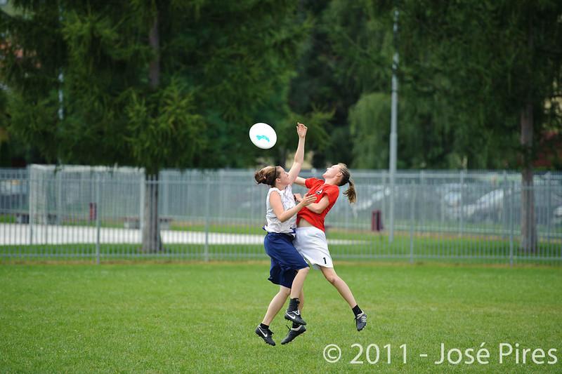 EUC2011, Maribor Slovenia.<br /> Finland vs Denmark. Women Division<br /> PhotoId :2011-08-03-0221