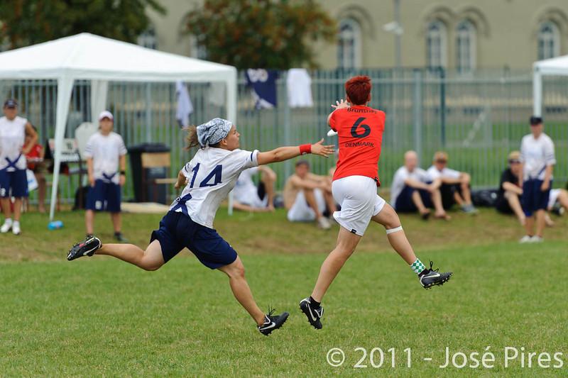EUC2011, Maribor Slovenia.<br /> Finland vs Denmark. Women Division<br /> PhotoId :2011-08-03-0293