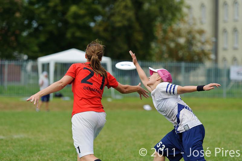 EUC2011, Maribor Slovenia.<br /> Finland vs Denmark. Women Division<br /> PhotoId :2011-08-03-0502