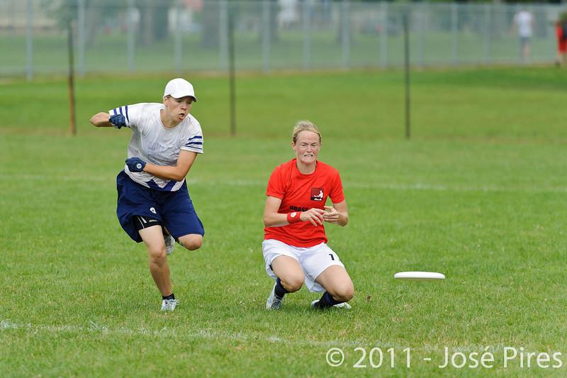 EUC2011, Maribor Slovenia.<br /> Finland vs Denmark. Women Division<br /> PhotoId :2011-08-03-0237
