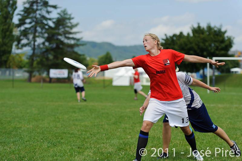 EUC2011, Maribor Slovenia.<br /> Finland vs Denmark. Women Division<br /> PhotoId :2011-08-03-0500
