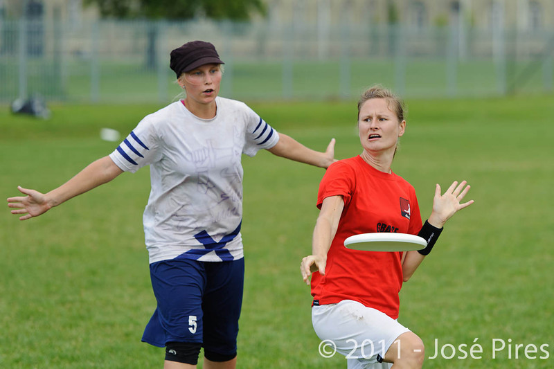 EUC2011, Maribor Slovenia.<br /> Finland vs Denmark. Women Division<br /> PhotoId :2011-08-03-0313