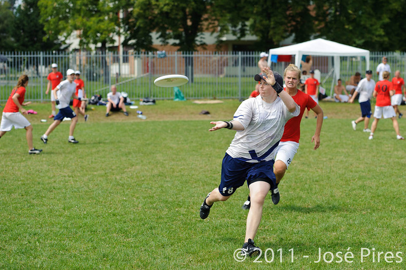 EUC2011, Maribor Slovenia.<br /> Finland vs Denmark. Women Division<br /> PhotoId :2011-08-03-0361