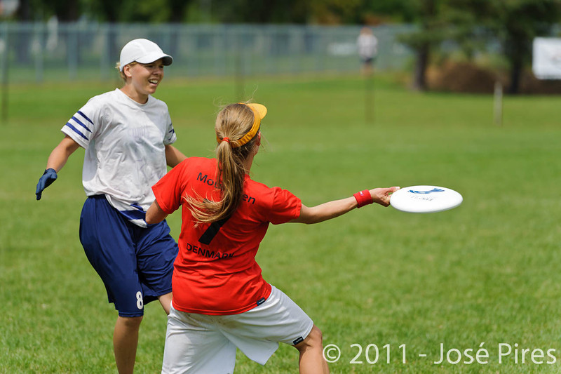 EUC2011, Maribor Slovenia.<br /> Finland vs Denmark. Women Division<br /> PhotoId :2011-08-03-0332