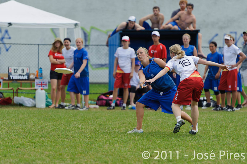 EUC2011, Maribor Slovenia.<br /> Great Britain vs Germany. Women Division<br /> PhotoId :2011-08-03-0443