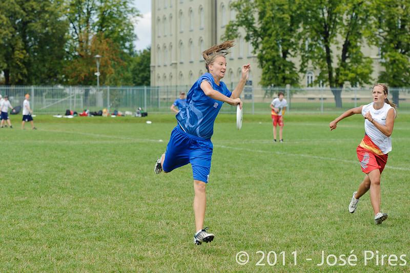 EUC2011, Maribor Slovenia.<br /> Great Britain vs Germany. Women Division<br /> PhotoId :2011-08-03-0194
