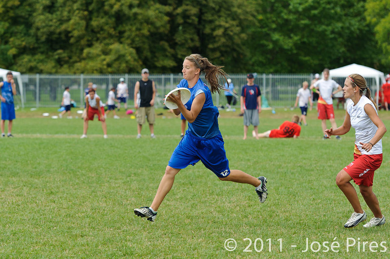 EUC2011, Maribor Slovenia.<br /> Great Britain vs Germany. Women Division<br /> PhotoId :2011-08-03-0183