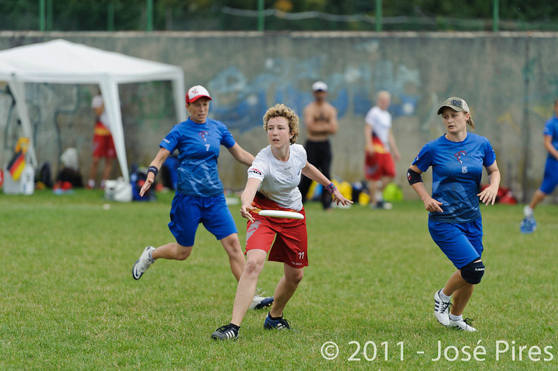 EUC2011, Maribor Slovenia.<br /> Great Britain vs Germany. Women Division<br /> PhotoId :2011-08-03-0245