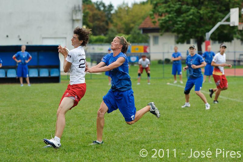 EUC2011, Maribor Slovenia.<br /> Great Britain vs Germany. Women Division<br /> PhotoId :2011-08-03-0270