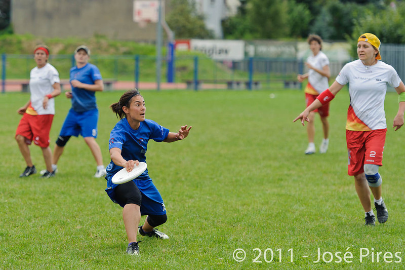 EUC2011, Maribor Slovenia.<br /> Great Britain vs Germany. Women Division<br /> PhotoId :2011-08-03-0261